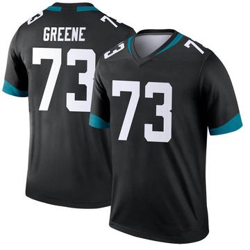 Men's Nike Jacksonville Jaguars Donnell Greene Green Black Jersey - Legend