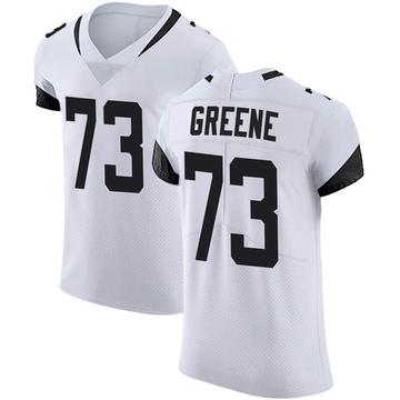 Men's Nike Jacksonville Jaguars Donnell Greene White Vapor Untouchable Road Jersey - Elite