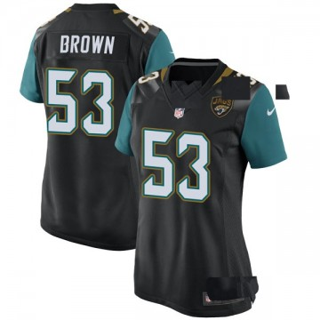 Women's Nike Jacksonville Jaguars Blair Brown Black Alternate Jersey - Game