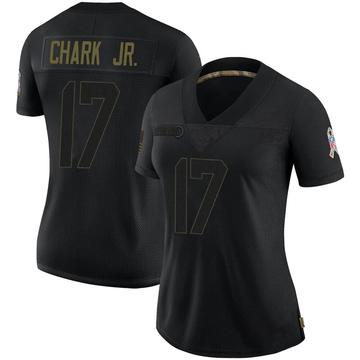 Women's Nike Jacksonville Jaguars DJ Chark Black 2020 Salute To Service Jersey - Limited