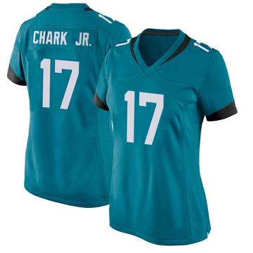 Women's Nike Jacksonville Jaguars DJ Chark Teal Jersey - Game