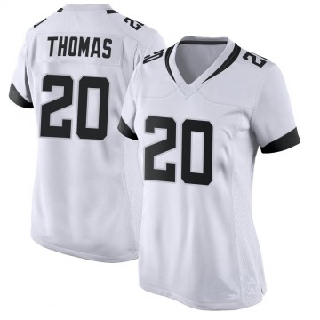 Women's Nike Jacksonville Jaguars Daniel Thomas White Jersey - Game