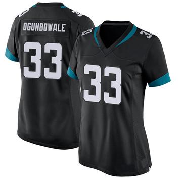 Women's Nike Jacksonville Jaguars Dare Ogunbowale Black Jersey - Game