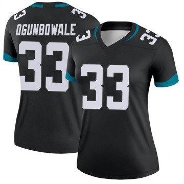 Women's Nike Jacksonville Jaguars Dare Ogunbowale Black Jersey - Legend