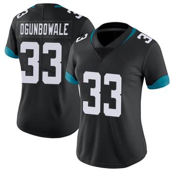 Women's Nike Jacksonville Jaguars Dare Ogunbowale Black Vapor Untouchable Jersey - Limited
