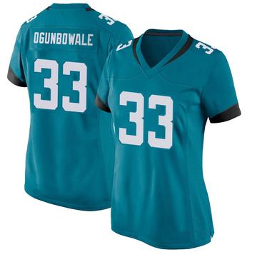 Women's Nike Jacksonville Jaguars Dare Ogunbowale Teal Jersey - Game