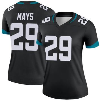 Women's Nike Jacksonville Jaguars Devante Mays Black Jersey - Legend