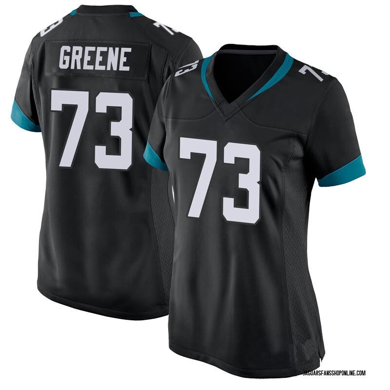 Women's Nike Jacksonville Jaguars Donnell Greene Green Black Jersey - Game