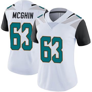 Women's Nike Jacksonville Jaguars Garrett McGhin White Vapor Untouchable Jersey - Limited