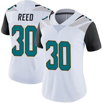 Women's Nike Jacksonville Jaguars J.R. Reed White Vapor Untouchable Jersey - Limited