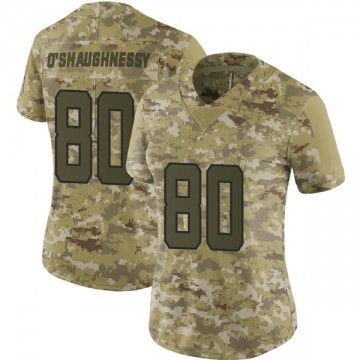 Women's Nike Jacksonville Jaguars James O'Shaughnessy Camo 2018 Salute to Service Jersey - Limited