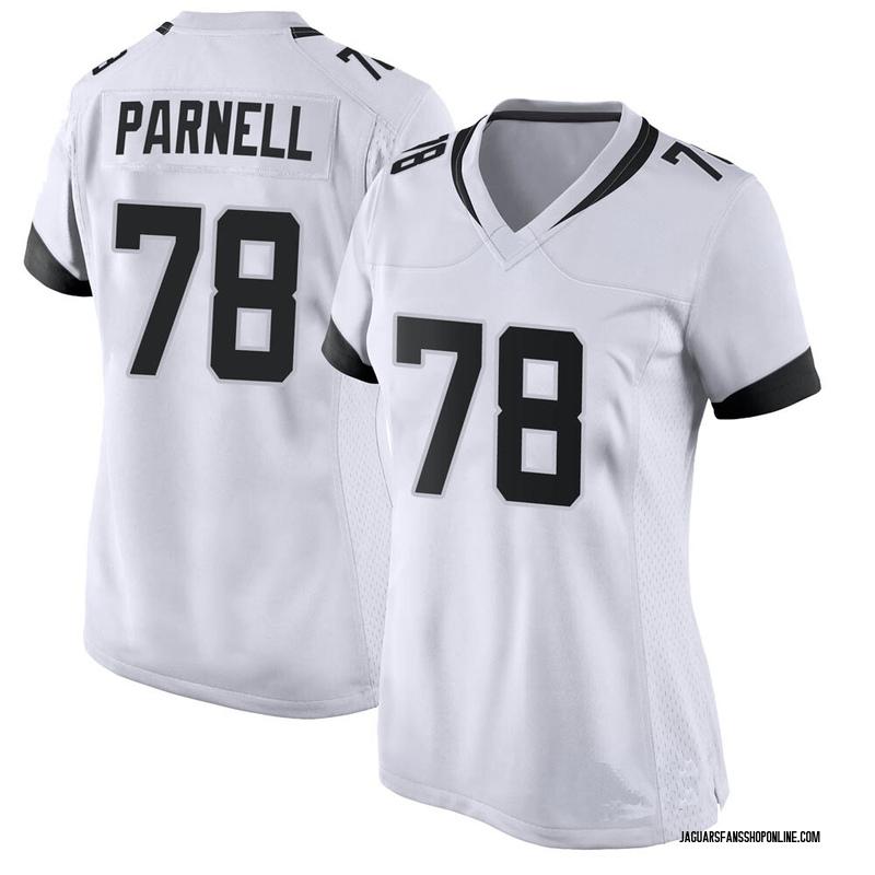 Women's Nike Jacksonville Jaguars Jermey Parnell White Jersey - Game