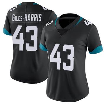 Women's Nike Jacksonville Jaguars Joe Giles-Harris Black 100th Vapor Untouchable Jersey - Limited