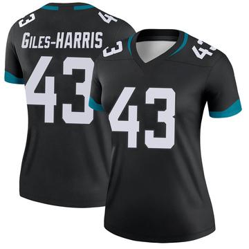 Women's Nike Jacksonville Jaguars Joe Giles-Harris Black Jersey - Legend