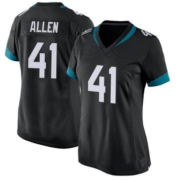 Women's Nike Jacksonville Jaguars Josh Allen Black Jersey - Game