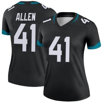 Women's Nike Jacksonville Jaguars Josh Allen Black Jersey - Legend