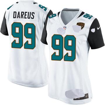 Women's Nike Jacksonville Jaguars Marcell Dareus White Jersey - Game