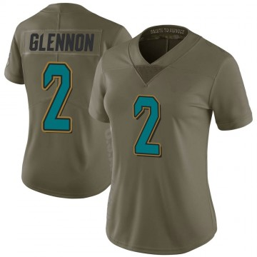 Women's Nike Jacksonville Jaguars Mike Glennon Green 2017 Salute to Service Jersey - Limited