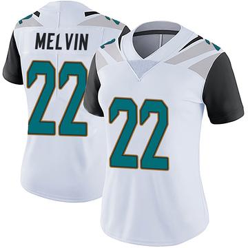 Women's Nike Jacksonville Jaguars Rashaan Melvin White Vapor Untouchable Jersey - Limited
