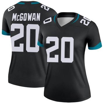 Women's Nike Jacksonville Jaguars Taj McGowan Black Jersey - Legend