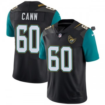 Youth Nike Jacksonville Jaguars A.J. Cann Black Vapor Untouchable Alternate Jersey - Limited