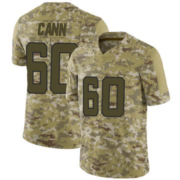 Youth Nike Jacksonville Jaguars A.J. Cann Camo 2018 Salute to Service Jersey - Limited