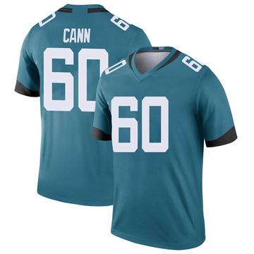 Youth Nike Jacksonville Jaguars A.J. Cann Teal Color Rush Jersey - Legend