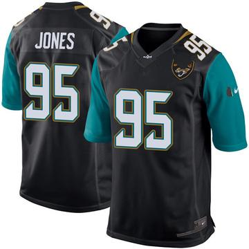 Youth Nike Jacksonville Jaguars Abry Jones Black Alternate Jersey - Game