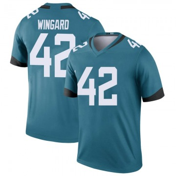 Youth Nike Jacksonville Jaguars Andrew Wingard Teal Color Rush Jersey - Legend