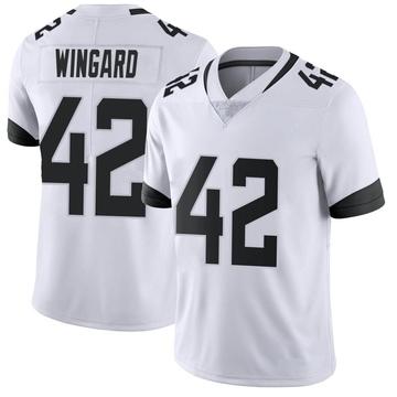 Youth Nike Jacksonville Jaguars Andrew Wingard White Vapor Untouchable Jersey - Limited