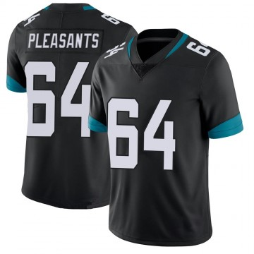 Youth Nike Jacksonville Jaguars Austen Pleasants Black 100th Vapor Untouchable Jersey - Limited