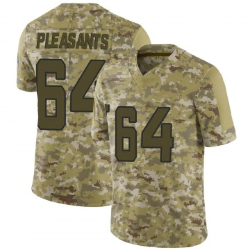 Youth Nike Jacksonville Jaguars Austen Pleasants Camo 2018 Salute to Service Jersey - Limited