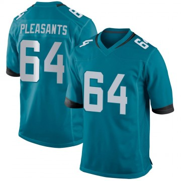 Youth Nike Jacksonville Jaguars Austen Pleasants Teal Jersey - Game