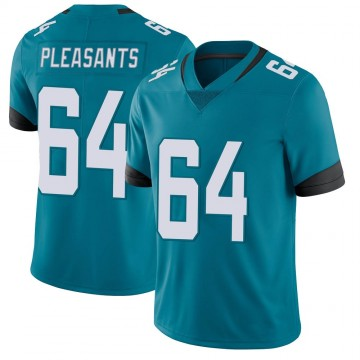 Youth Nike Jacksonville Jaguars Austen Pleasants Teal Vapor Untouchable Jersey - Limited