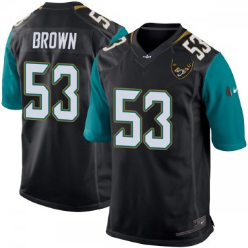 Youth Nike Jacksonville Jaguars Blair Brown Black Alternate Jersey - Game