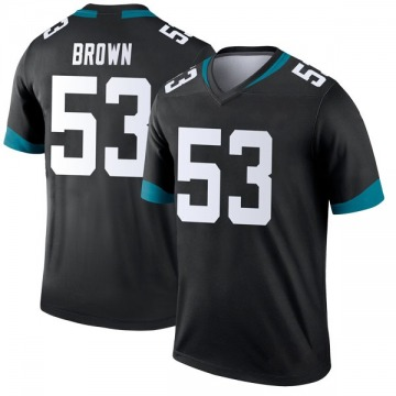 Youth Nike Jacksonville Jaguars Blair Brown Black Jersey - Legend