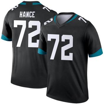 Youth Nike Jacksonville Jaguars Blake Hance Black Jersey - Legend