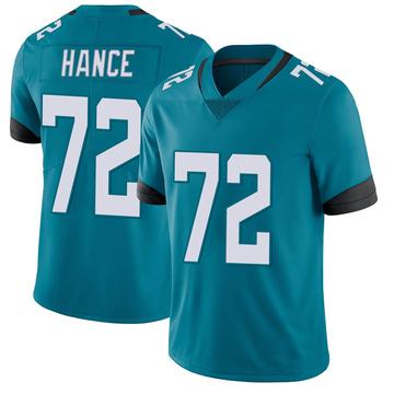 Youth Nike Jacksonville Jaguars Blake Hance Teal Vapor Untouchable Jersey - Limited