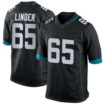 Youth Nike Jacksonville Jaguars Brandon Linder Black Jersey - Game