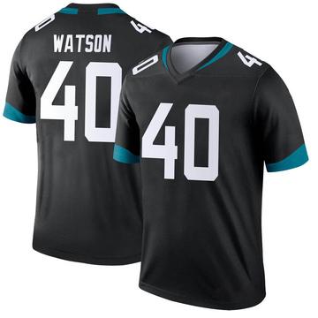 Youth Nike Jacksonville Jaguars Brandon Watson Black Jersey - Legend