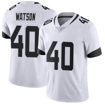 Youth Nike Jacksonville Jaguars Brandon Watson White Vapor Untouchable Jersey - Limited