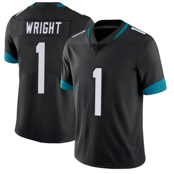 Youth Nike Jacksonville Jaguars Brandon Wright Black 100th Vapor Untouchable Jersey - Limited