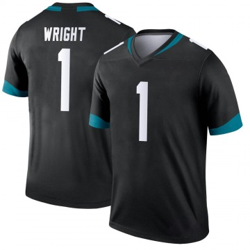 Youth Nike Jacksonville Jaguars Brandon Wright Black Jersey - Legend