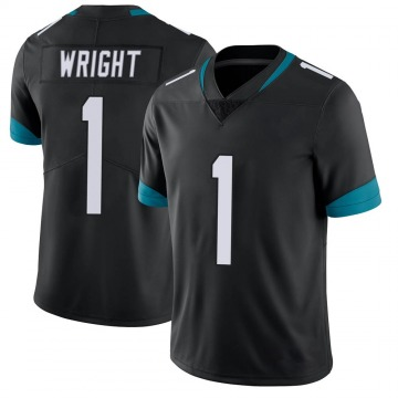 Youth Nike Jacksonville Jaguars Brandon Wright Black Vapor Untouchable Jersey - Limited