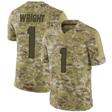 Youth Nike Jacksonville Jaguars Brandon Wright Camo 2018 Salute to Service Jersey - Limited
