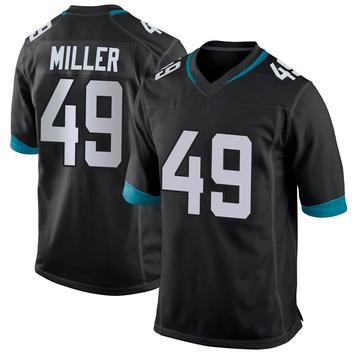 Youth Nike Jacksonville Jaguars Bruce Miller Black Jersey - Game