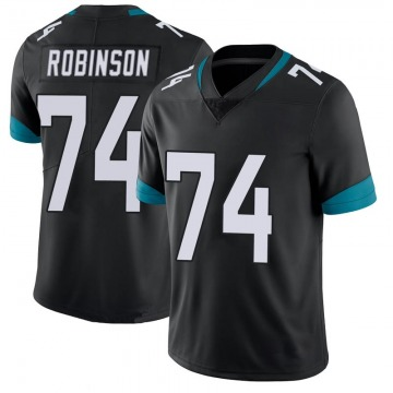 Youth Nike Jacksonville Jaguars Cam Robinson Black 100th Vapor Untouchable Jersey - Limited