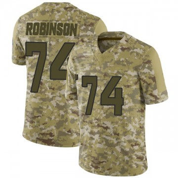 Youth Nike Jacksonville Jaguars Cam Robinson Camo 2018 Salute to Service Jersey - Limited