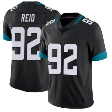 Youth Nike Jacksonville Jaguars Caraun Reid Black 100th Vapor Untouchable Jersey - Limited