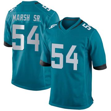 Youth Nike Jacksonville Jaguars Cassius Marsh Teal Jersey - Game